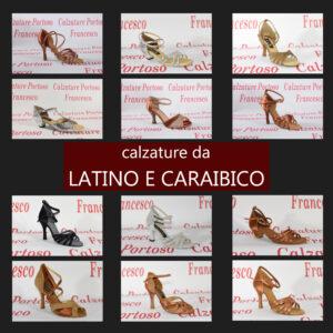 Calzature balli latino e caraibici