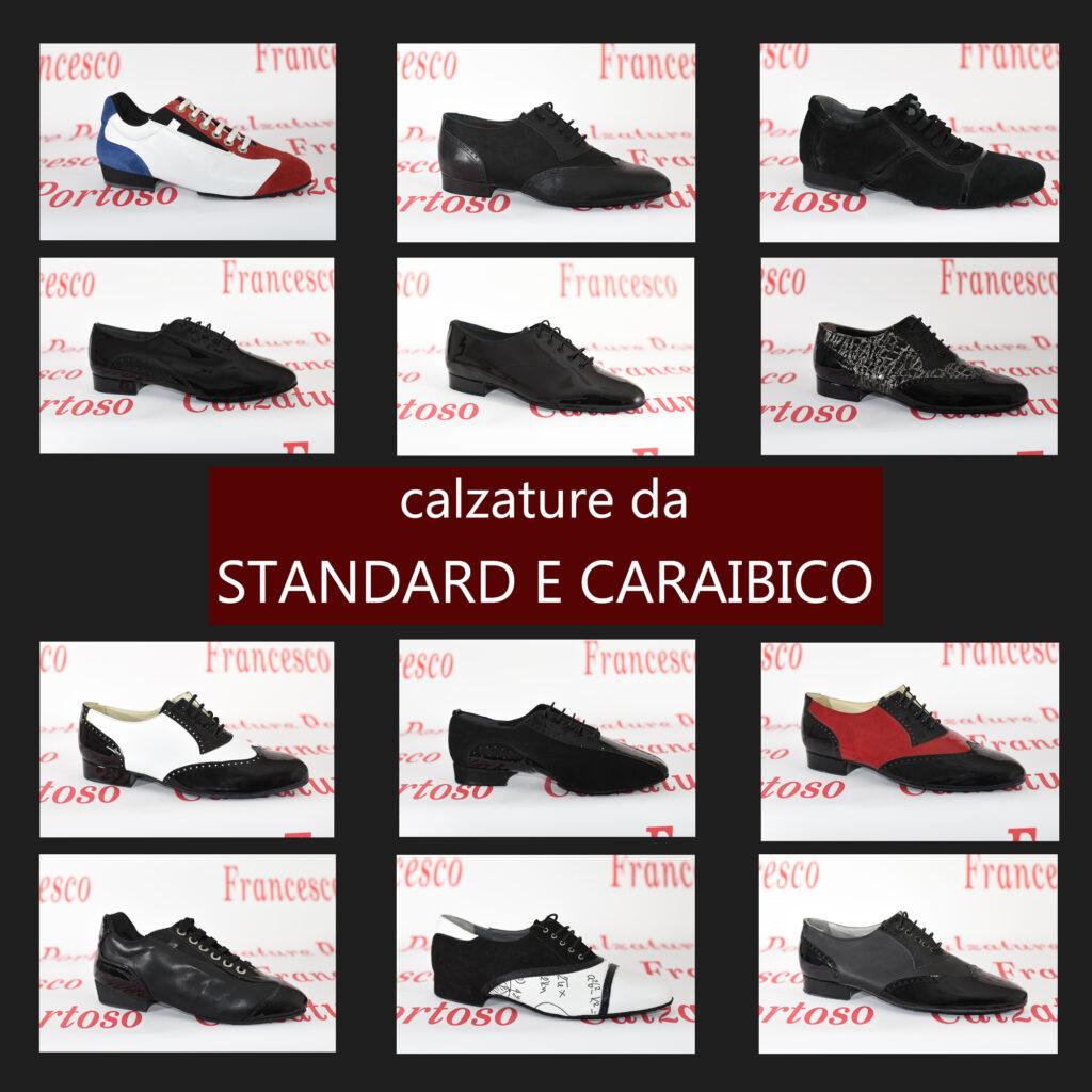 Calzature da ballo standard e caraibico